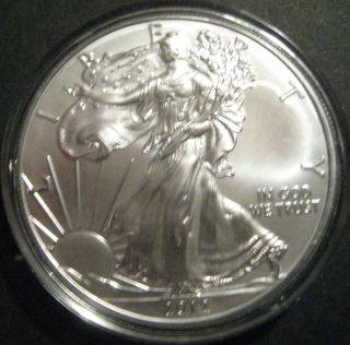 2012 1 Oz Silver American Eagle photo