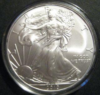 2010 1 Oz Silver American Eagle photo