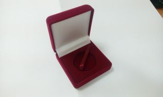 Box For Money Red Tone Coin By 1capsules 44 Mm photo