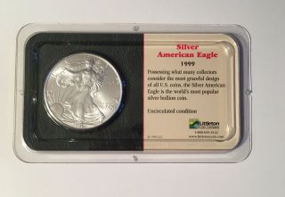 1999 Silver American Eagle Uncirculated From Littleton Coin Company photo