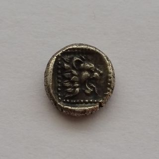 Ancient Greek Silver Obol Caria Chersonesos photo
