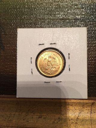 1955 Mexico Gold 5 Pesos (. 1205 Oz) - Uncirculated photo