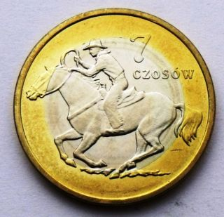 Poland - MrĄgowo 7 CzosÓw 2009 Horse & Rider - Cowboy - Sheriff Star Bimetallic photo