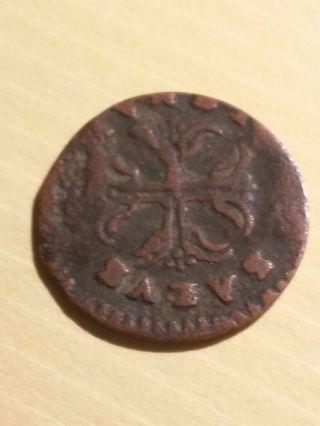 1727 - 1731 Italian States Piacenza Sesino Coin Km 32 photo