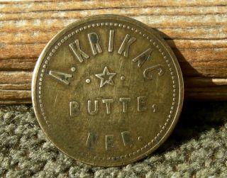 1900 Butte Nebraska Ne (tiny Town Nr Sd Boyd Co)