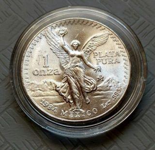 1984 Mexico Silver Libertad photo