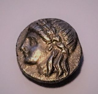 Ionia,  Miletos 340 - 325 Bc Ar Hemidrachm photo