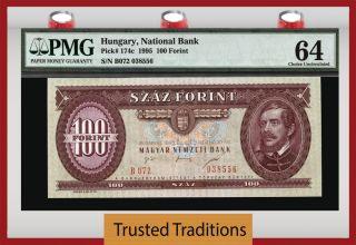 Tt Pk 174c 1995 Hungary 100 Forint
