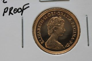 1980 1/2 Sovereign Proof photo