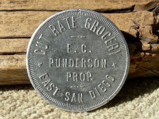 Ca 1900s East San Diego,  California Rare R10 Unlist