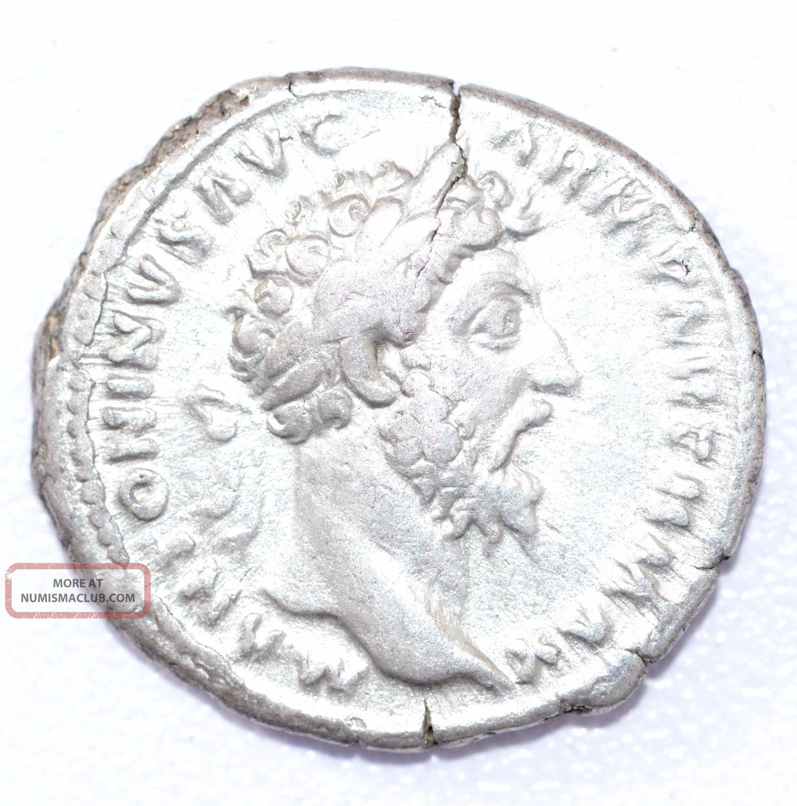 Rare Authentic Marcus Aurelius,  Ar Silver Denarius,  Roman Coin,  Rv.  Pax - A884 Coins: Ancient photo