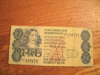 Twee Rand South African Reserve Bank Note photo