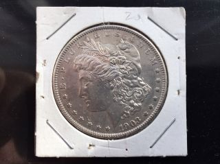 1903 United States Morgan Silver Dollar Uncirculated photo