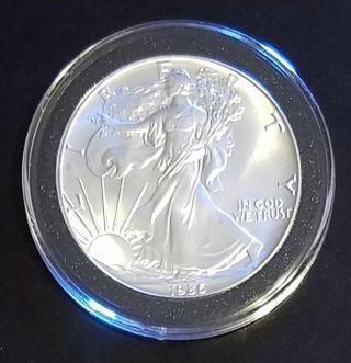 1986 American Silver Eagle $1 Dollar Coin photo