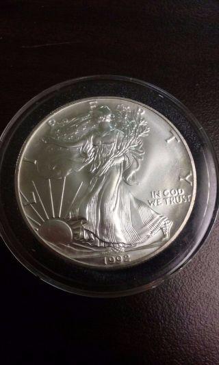 1992 American Silver Eagle photo