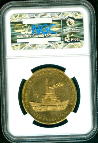 Hk 414 1915 Ca Panama - Pacific - Expo Ngc Ms 66 Top Pop photo