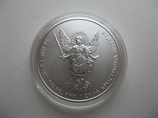 Ukraine 2016 Year 1 Hryvnia Coin Archangel Michael Silver 1oz photo