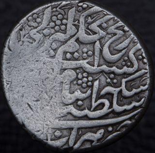 Islamic Afsharids Adel Shah (ali) 1747 - 1748 Ar Rupi (10 Shahi) Herat Km 403.  1 photo