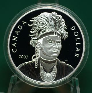 2007 Canadathayendanegea Dollar Proof Finish - A1 - Coin Only photo