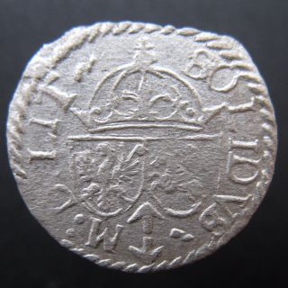 Poland Solidus Schilling Szelag Sigismund Iii 1617 Rare photo
