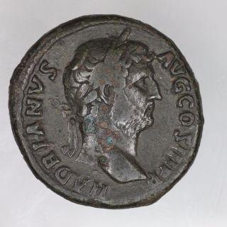 Hadrian Ae Sestertius,  Ric 743 photo