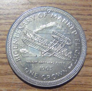 1983 Isle Of Man Crown Take A Look photo