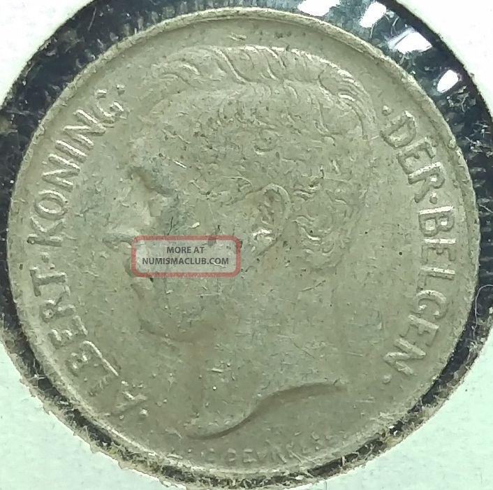 Belgium 1911 50 Cent Circ 123 Europe photo