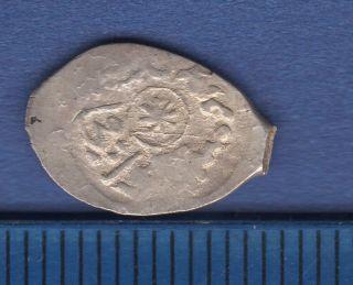 Ivan Iii.  Grand Duke Of Russia.  Denga №3102a.  Wire Coin photo