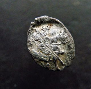 Russian Wire Silver Coin Time Of Troubles 1610 - 1612.  (k628) photo
