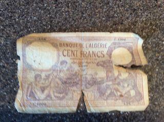 Algerian Paper Money photo