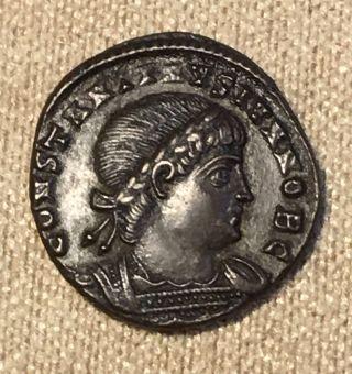 Rome Syria 306 - 337 Ad Antiochia Follie Emperor Constantine Exceptional Struck photo