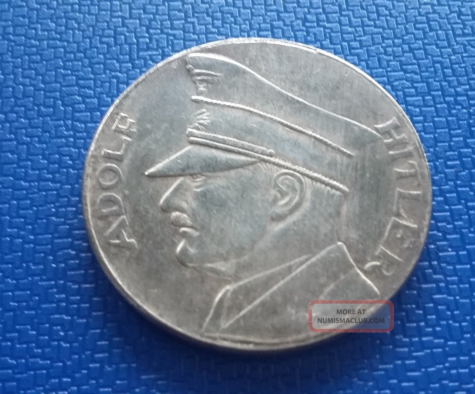 1934 Germany,  Coin Medal Token - Reich Adolf H.  Ww2 Germany photo