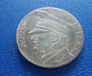 1934 Germany,  Coin Medal Token - Reich Adolf H.  Ww2 photo