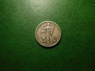 1935 - P 50c Walking Liberty Half Dollar A Coin photo