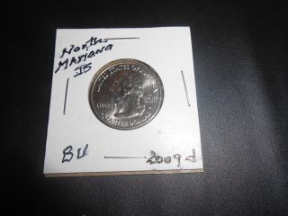2009 D Northern Mariana Is.  Territorial Quarter Bu: Low Mintage Coin photo