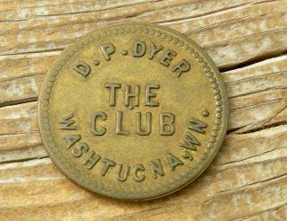 Ca 1900s Washtucna Washington Wa (tiny Adams Co) Xrare R7