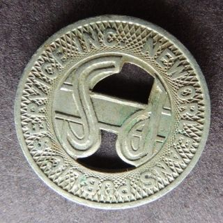Orleans Public Transit Transportation Token photo
