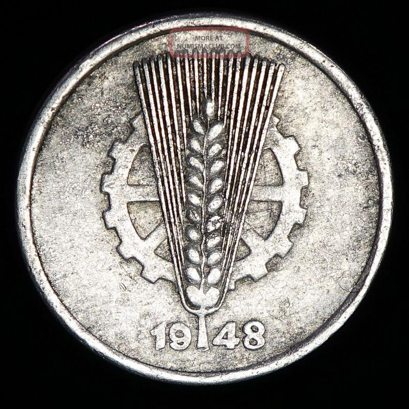 1948a Germany 5 Pfennig Germany photo
