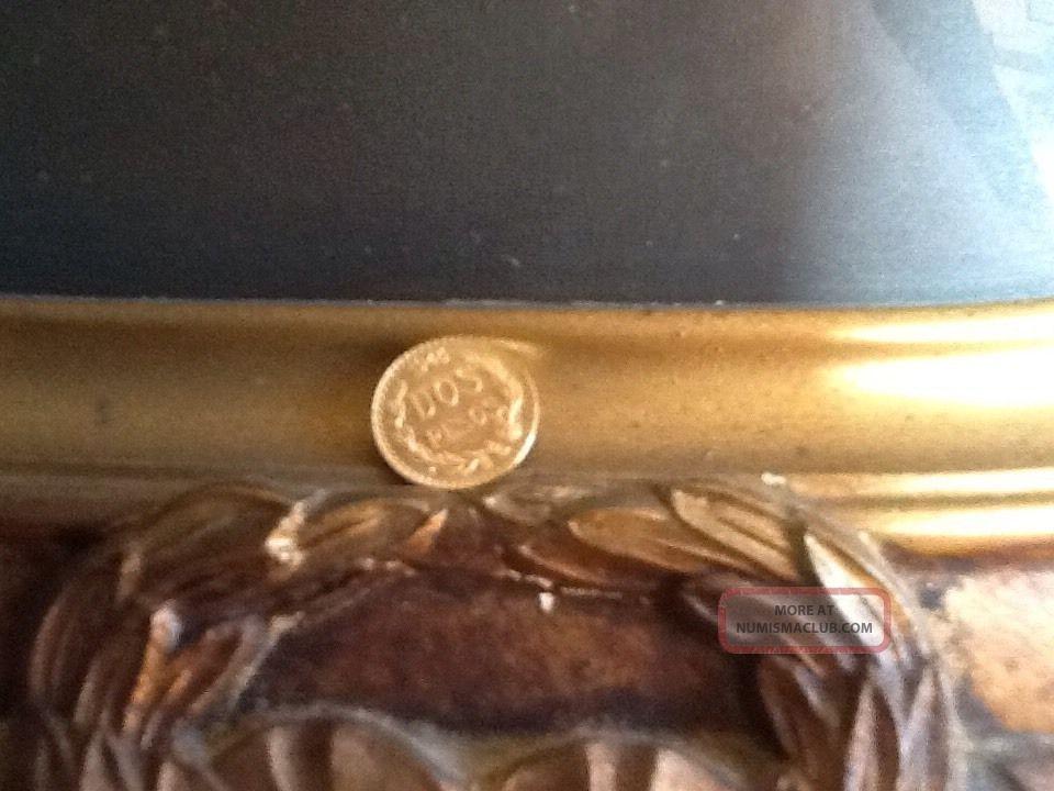 1945 Mexican Coin Dos Pesos 90 Silver.  482 Brilliant Uncirculated Mexico Mexico photo