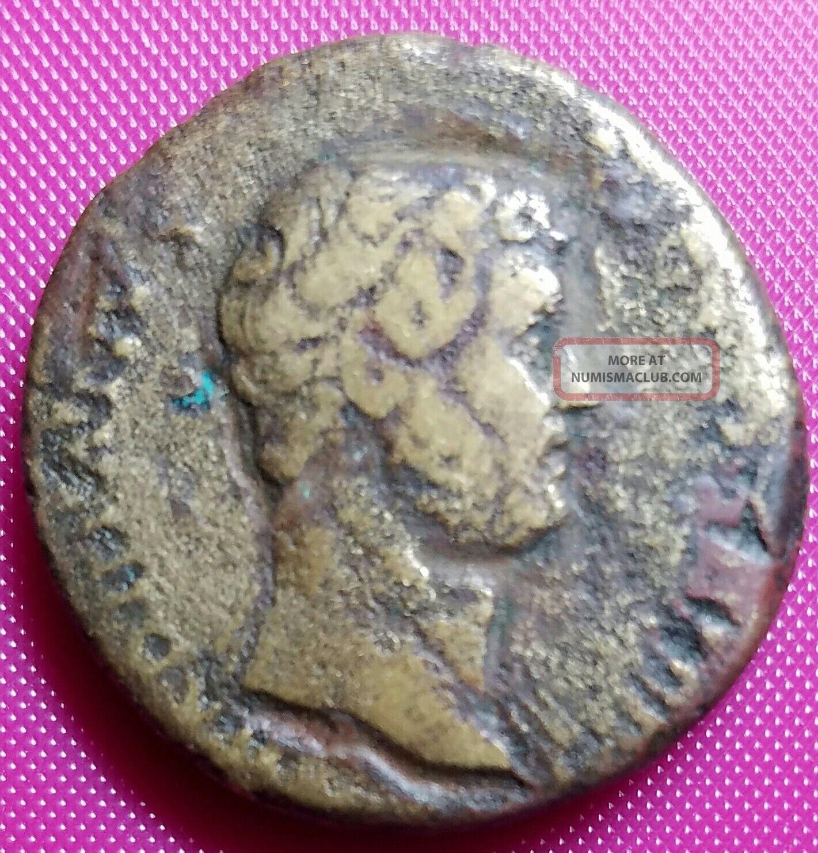 Hadrian,  117 - 138 Ad,  Ae As Coins: Ancient photo