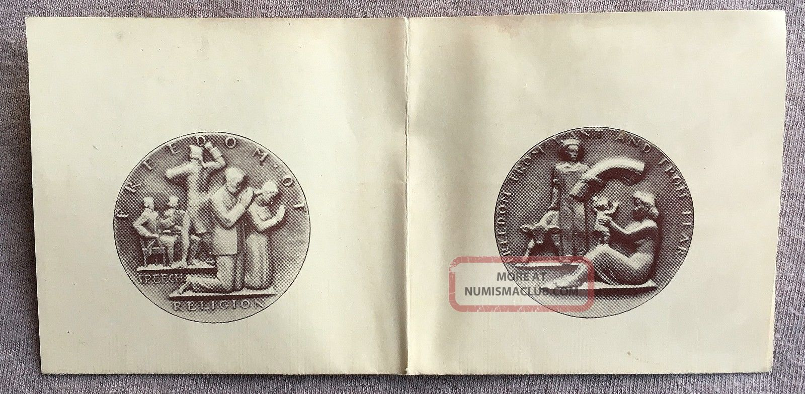Society Of Medalists Issue No.  28 By Carl L.  Schmitz Pamphlet Exonumia photo