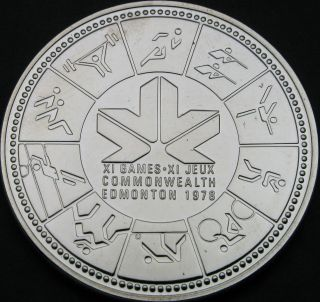 Canada 1 Dollar 1978 - Silver - Commonwealth Games - Unc - 86 猫 photo