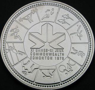 Canada 1 Dollar 1978 - Silver - Commonwealth Games - Unc - 86 猫 photo