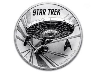 1 Oz 2016 Tuvalu Silver Star Trek: U.  S.  S Enterprise photo