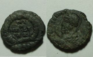 Julian Ii Apostate 360ad Rare Ancient Roman Coin/laurel Wreath Heraclea photo