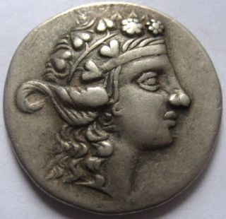Region Of Danube Celtic Silver Tetradrachm 2nd - 1st Ce.  B.  C. photo