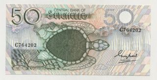Seychelles 50 Rupees Nd 1983 Pick 30 Unc Uncirculated Banknote photo