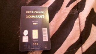 1/2 Gram Gold Bar - Istanbul Gold Refinery photo