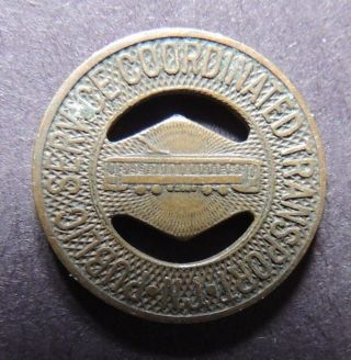 Nj Public Service Coordinated Transportation Token Early photo