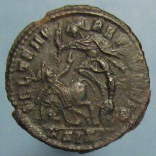 Constantius Gallus Fel Temp Reparatio Ae - 3 - Sharp Details photo